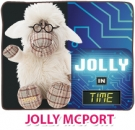 Limited Edition Jolly Professor McPort 35cm in Geschenkkarton